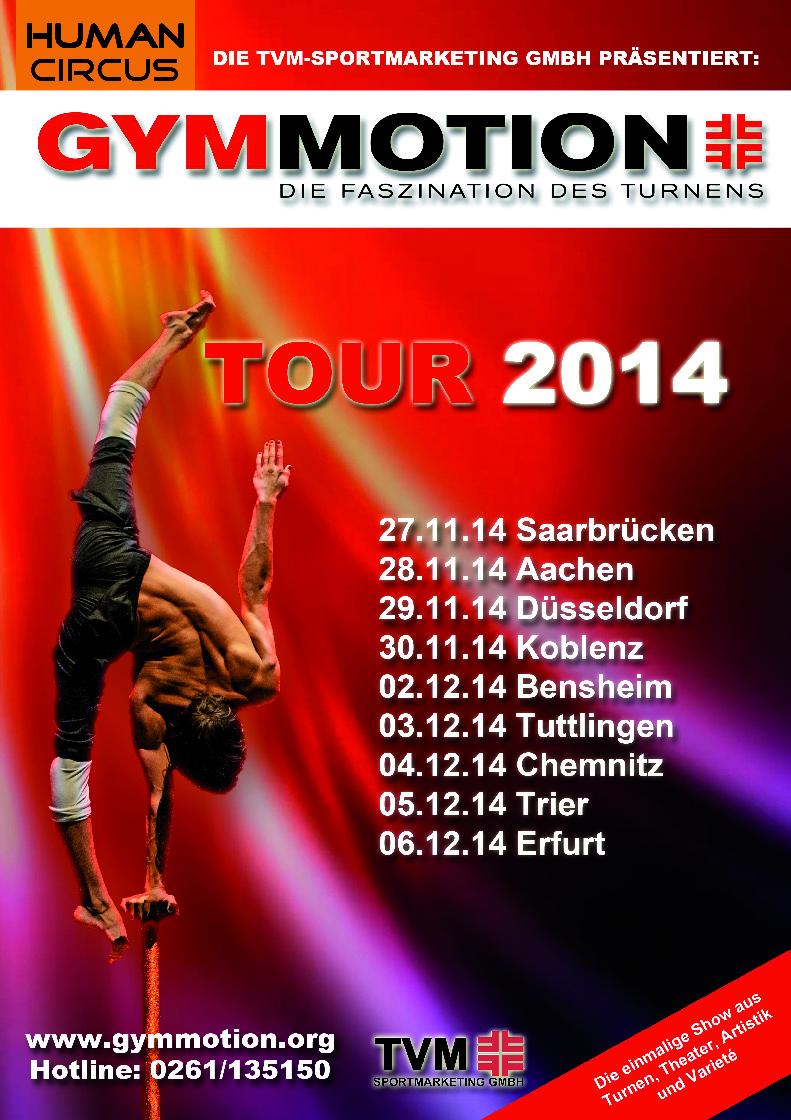 Gymmotion 2014 - HUMAN CIRCUS